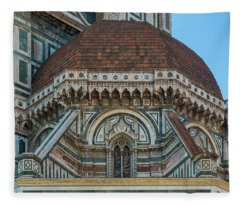 Florence Duomo Architecture Fleece Blanket