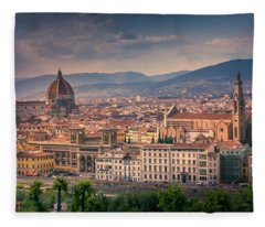 Florence, Italy Fleece Blanket