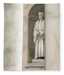 Florence Statue Fleece Blanket