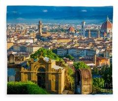 Florentine Vista Fleece Blanket