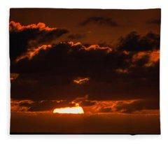 Florida Keys Sunrise Fleece Blanket