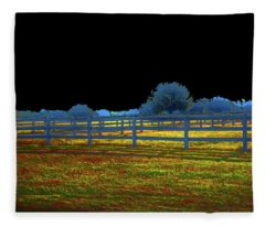 Florida Ranchland Fleece Blanket