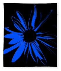 Flower 4 Fleece Blanket