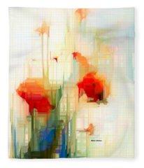 Flower 9230 Fleece Blanket