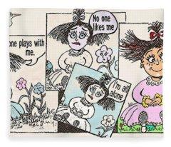 Flower-child Fleece Blanket