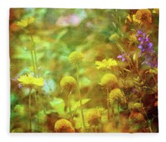 Flower Garden 1310 Idp_2 Fleece Blanket