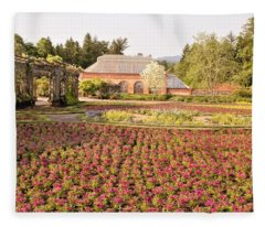 Flower Garden Fleece Blanket