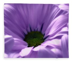 Flower Macro Beauty 4 Fleece Blanket