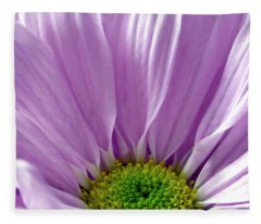 Flower Macro Beauty Fleece Blanket