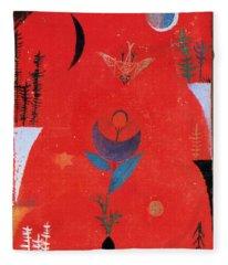 Flower Myth Fleece Blanket