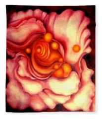 Flower Shell Fleece Blanket