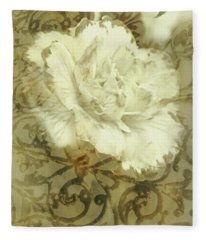Flowers By The Window Fleece Blanket