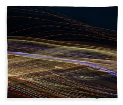 Fleece Blanket featuring the photograph Flowing by Michael Lucarelli