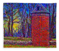 Floyd,virginia Tower Fleece Blanket