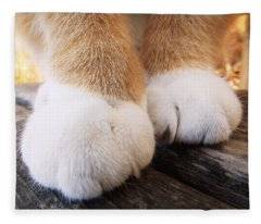 Fluffy Paws Fleece Blanket