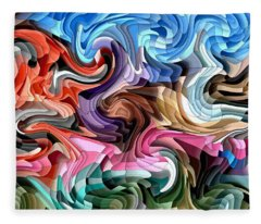 Fluidity Fleece Blanket