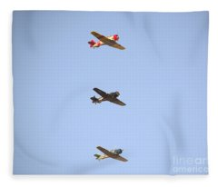 Fly Boys Fleece Blanket