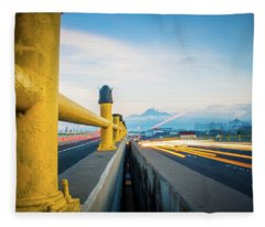 Fly Over View Fleece Blanket