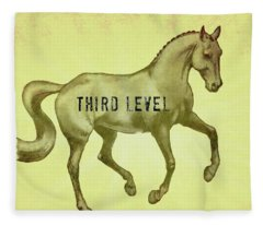Flying Change Third Level Fleece Blanket