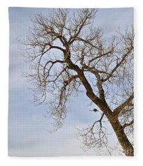 Flying Goose By Great Tree Fleece Blanket