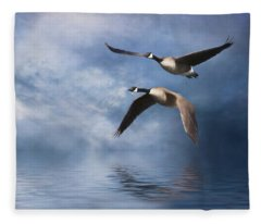 Flying Home Fleece Blanket