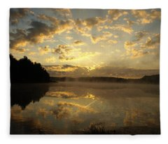 Flying Reflections Fleece Blanket