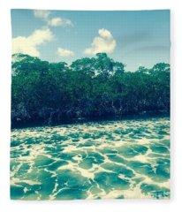 Foamy Water Fleece Blanket