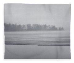 Fog Light Fleece Blanket