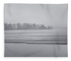 Fog Light Fleece Blanket
