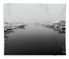 Foggy Day Banagher Fleece Blanket
