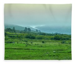 Foggy Day #g0 Fleece Blanket