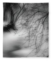 Foggy Feeder Fleece Blanket
