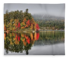 Foggy Morning Fleece Blanket