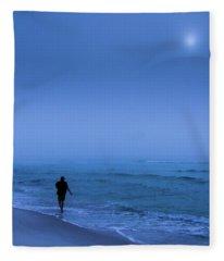 Foggy  Fleece Blanket