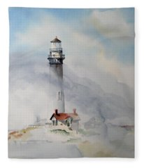 Foggy Point Fleece Blanket