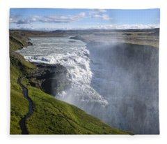 Follow Life's Path Fleece Blanket