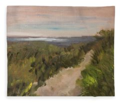 Follow The Path Fleece Blanket