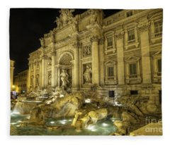 Fontana Di Trevi 1.0 Fleece Blanket