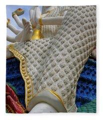 Foot Of Buddha Fleece Blanket
