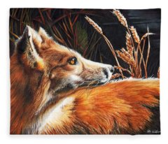 For Fox Sake Fleece Blanket