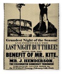 For The Benefit Of Mr Kite Fleece Blanket