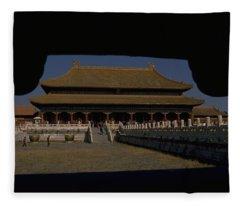 Forbidden City, Beijing Fleece Blanket