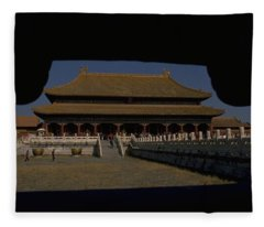 Forbidden City, Beijing Fleece Blanket