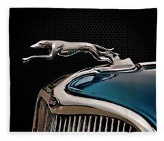 Ford Blue Dog Fleece Blanket