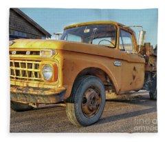 Ford F-150 Dump Truck Fleece Blanket