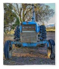 Ford Tractor Fleece Blanket
