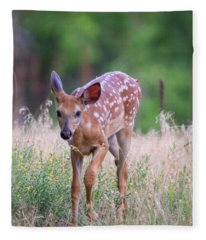 Forest Fawn Fleece Blanket