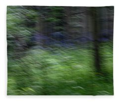 Forest Impressions Fleece Blanket