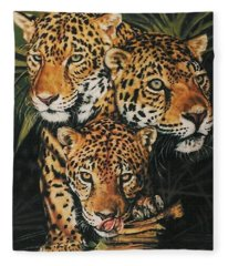 Forest Jewels Fleece Blanket