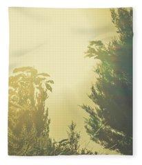 Forest Mysteria Fleece Blanket